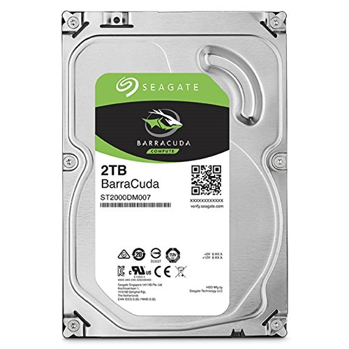 历史新低!Seagate 希捷 ST2000DM006 BarraCuda  SATA 2TB 3.5英寸台式机硬盘 84.99元限时特卖并包邮!