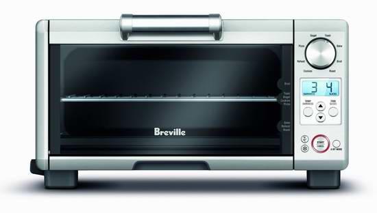 Breville 铂富 BREBOV450XL 迷你不锈钢智能烤箱4.9折 139.99加元包邮!