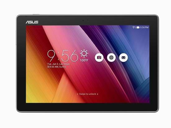 历史新低!ASUS 华硕 ZenPad Z300M-A2-GR 16GB 10.1英寸平板电脑 189.99元限时特卖并包邮!
