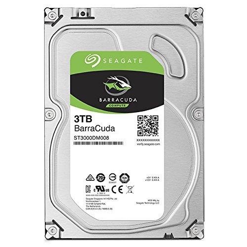 历史最低价!Seagate 希捷 ST3000DM008 3TB BarraCuda SATA 3.5英寸台式机硬盘 99.99元限时特卖并包邮!