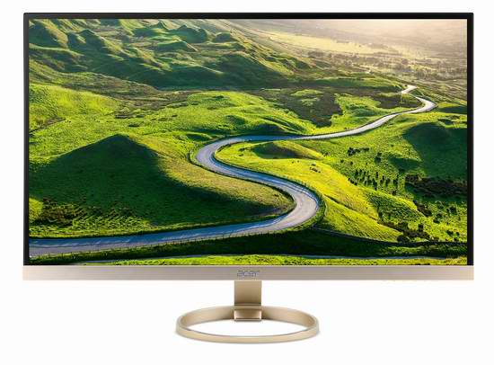节礼周大促:历史新低!Acer 宏碁 27英寸 IPS WQHD 全高清液晶显示器 489.99元限时特卖并包邮!
