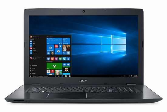 节礼周大促:历史新低!Acer 宏碁 Aspire E系列 NX.GG7AA.002 17.3英寸笔记本电脑 559.99元限时特卖并包邮!