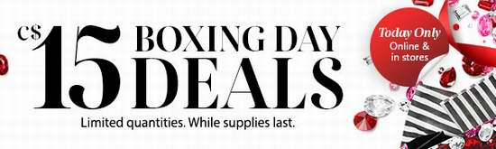 Sephora 节礼日特卖开售,精选多款最高价值54元美妆护肤品全部只卖15元!