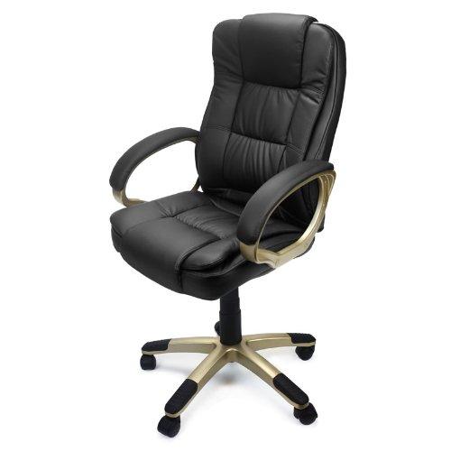 金盒头条:XtremepowerUS 豪华PU皮办公椅 97.49加元包邮!