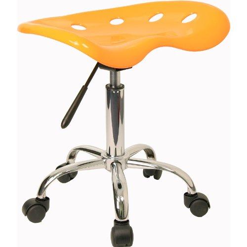 历史新低价上再打7.5折!Flash Furniture LF-214A-YELLOW-GG 可升降吧椅3.6折 38.69元包邮!