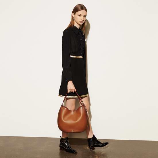 COACH Nomad 女式时尚抛光真皮手提/单肩包5.2折 246.74元限时清仓并包邮!