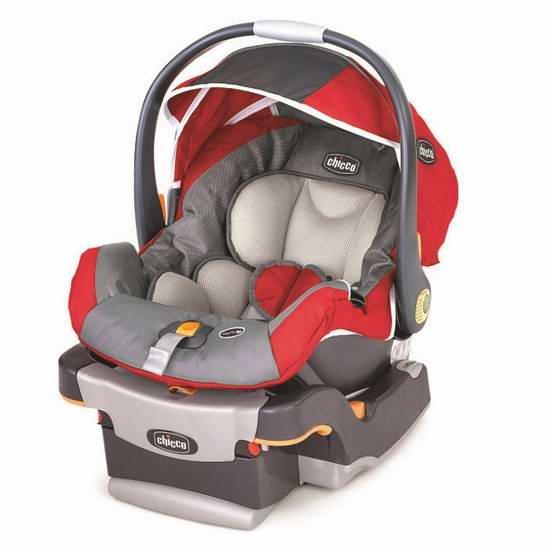 历史新低!Chicco 智高 KeyFit 30 婴儿汽车安全座椅 199.99元限时特卖并包邮!
