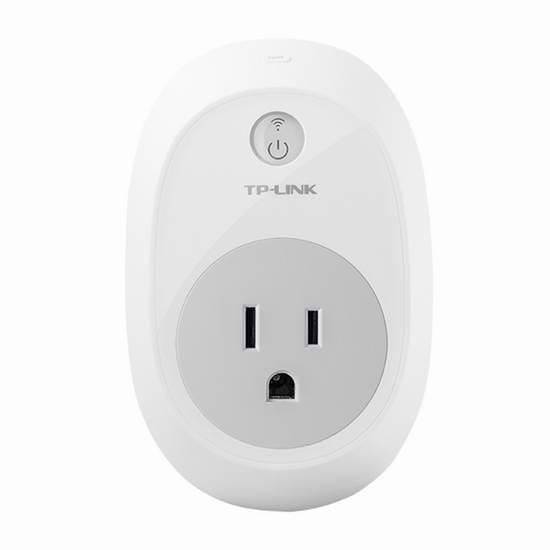 历史新低!TP-Link HS100 Wi-Fi 智能无线遥控插座4.3折 19.99加元限时特卖!