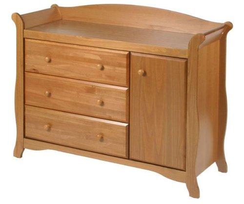 历史新低!Stork Craft 03585-61L Aspen 实木组合梳妆柜5折 214.25元限时特卖并包邮!