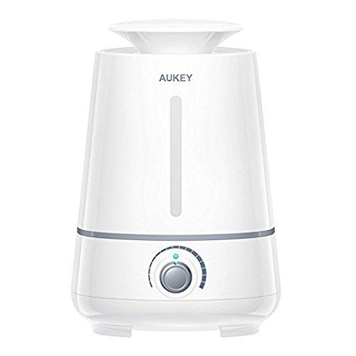 售价大降!历史新低!AUKEY 3.5升超静音超声波加湿器 39.99元限量特卖并包邮!