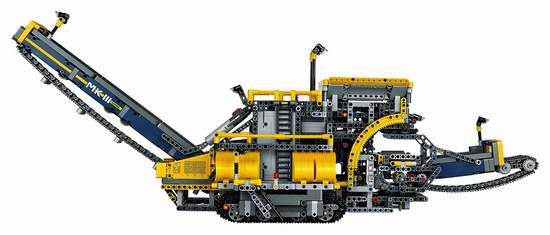 速抢!历史新低!LEGO 乐高 42055 科技旗舰 二合一 斗轮式挖掘机积木套装(3929pcs)6折 196.98加元包邮!