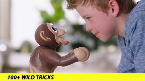 Spin Master Zoomer Chimp 智能宠物 机器猩猩4.9折 78元限时特卖并包邮!