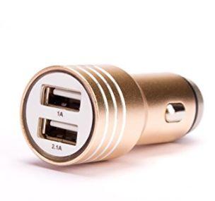 白菜价!ASJ 24W双USB口车载充电器2.99加元特卖!
