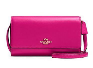 COACH Phone crossbody 女款单肩包 89.25加元,原价 170加元