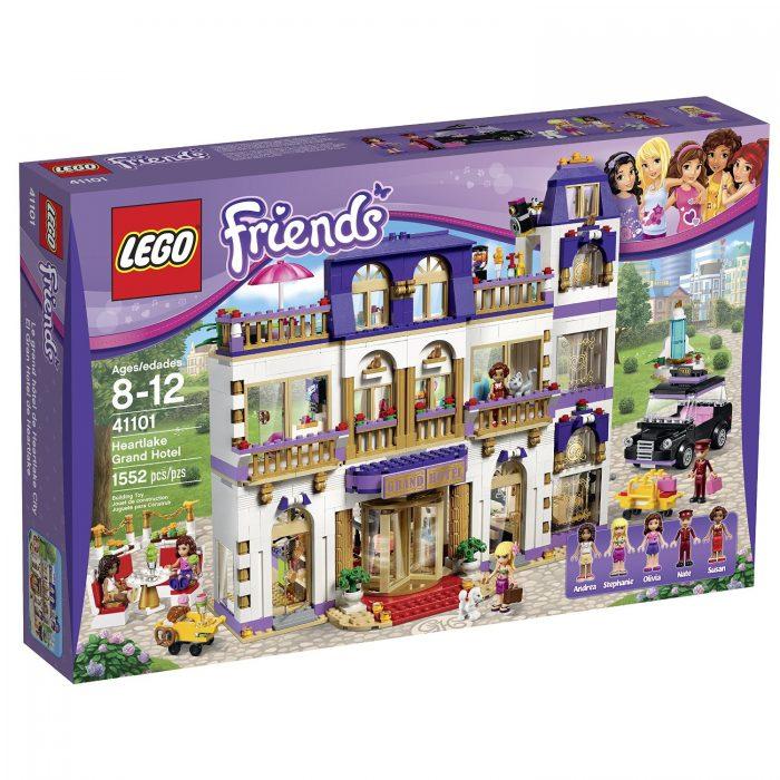 历史新低!Lego 乐高 41101 好朋友系列 心湖大酒店 7.5折 119.99加元(1552pcs) ,官网价 159加元,包邮