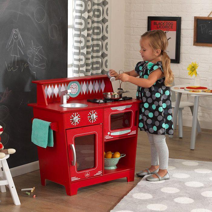 KidKraft 经典仿真厨房 79.5元,原价 125.33元,包邮