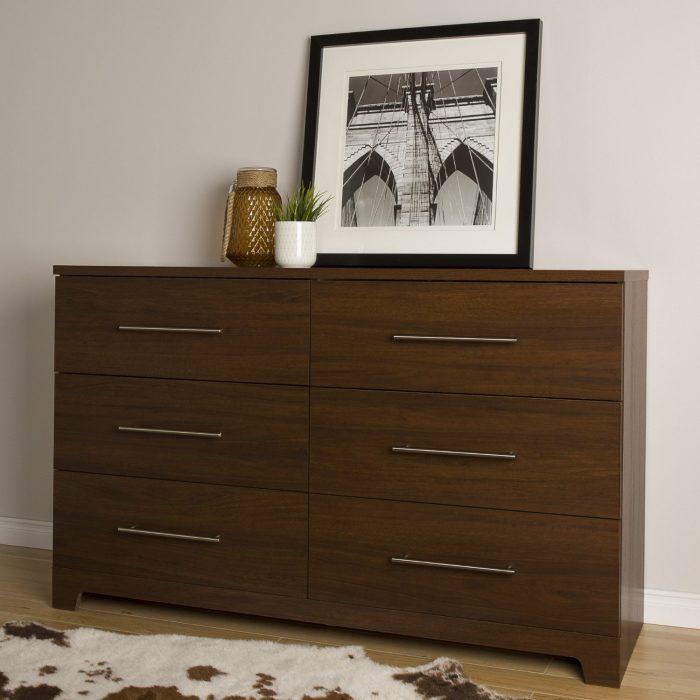 South Shore Furniture Gloria 6抽柜 169.99元,原价 224.99元,包邮