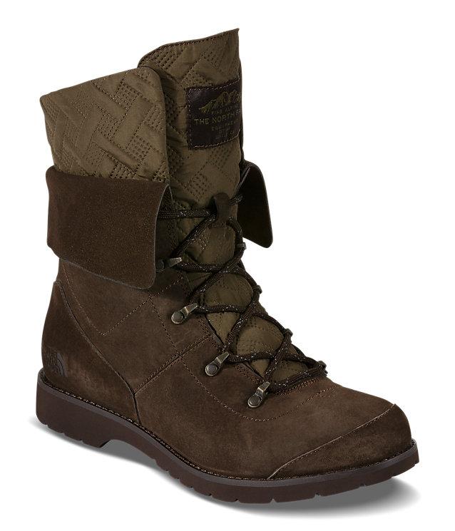 The North Face Ballard G.I. 女款防水麂皮靴 94.99加元,原价 189.99加元,包邮