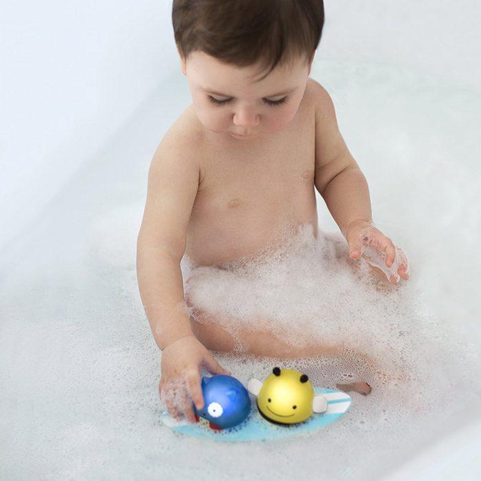 让宝宝洗澡充满乐趣!Skip Hop 猫头鹰/蜜蜂冲浪玩具 10.39加元,原价 13加元