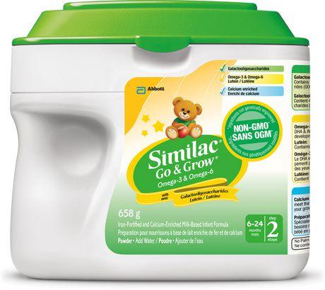 Similac Step 2 Omega-3 and Omega-6 婴儿奶粉 18.98加元,原价 32.98加元