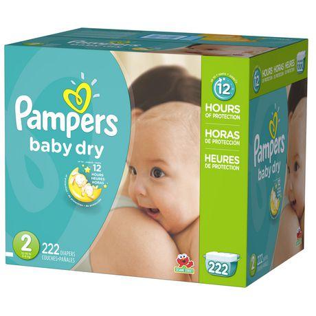 精选多款Pampers帮宝适婴幼儿尿不湿/纸尿裤、湿巾纸等立减 10元!