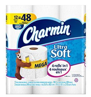 Charmin Ultra 12卷超软卫生纸 11.61元,原价 18.99元