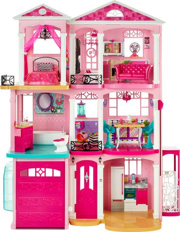 Barbie Dreamhouse 芭比梦之屋 149.97加元清仓特卖,原价 189.97加元,包邮