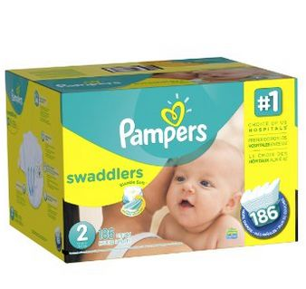 Pampers 帮宝适 Swaddlers 纸尿裤 27.89加元(3、4号;其他号 31.42加元),原价 49.99加元,会员价为26.82-23.78加元