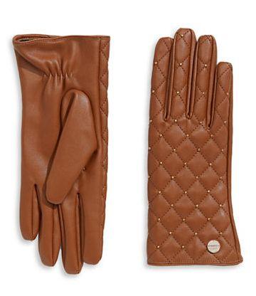 CALVIN KLEIN Stud 羊皮手套 39.2元(3色),原价 98元