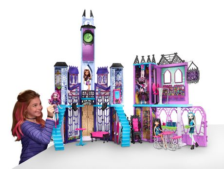 Monster High Deluxe高校探险玩具 50加元清仓特卖,原价 199.97加元,包邮