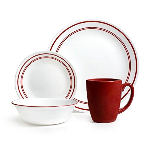 Corelle 康宁 Livingware 餐具16件套4.8折 38.64元限量特卖并包邮!