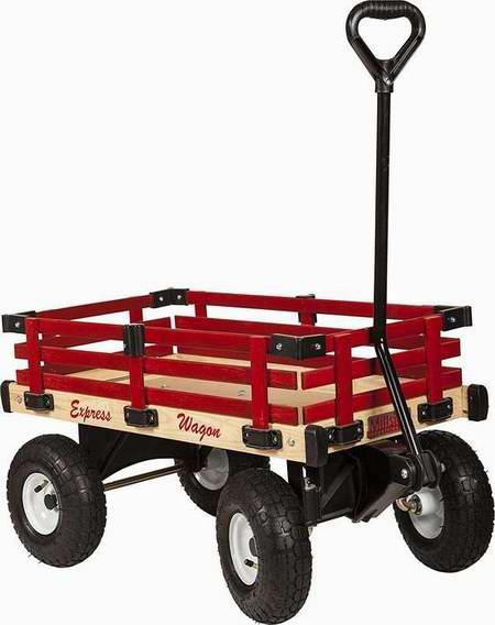 Millside Industries 实木儿童拖车5.4折 98元限时特卖并包邮!