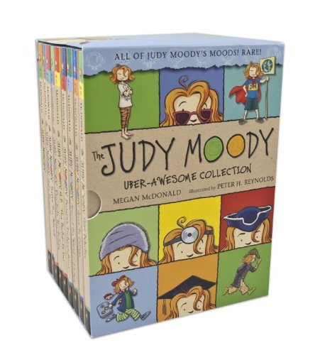 The Judy Moody Uber-Awesome Collection 《稀奇古怪小朱迪系列》1-9册套装 35.26元限量特卖并包邮!