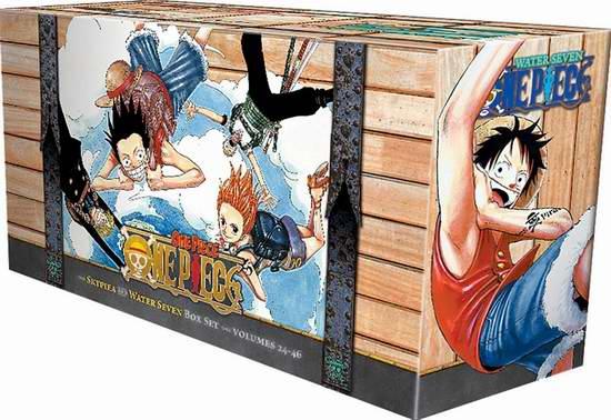 One Piece 海贼王 盒装2(Volumes 24-46): 水之七都 空岛 106.66元限量特卖并包邮!