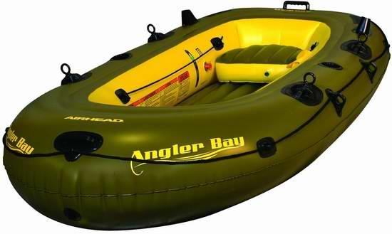 历史新低!Airhead AHIBF-03 Angler Bay 3人钓鱼船/皮划艇4.6折 94.51元限时特卖并包邮!