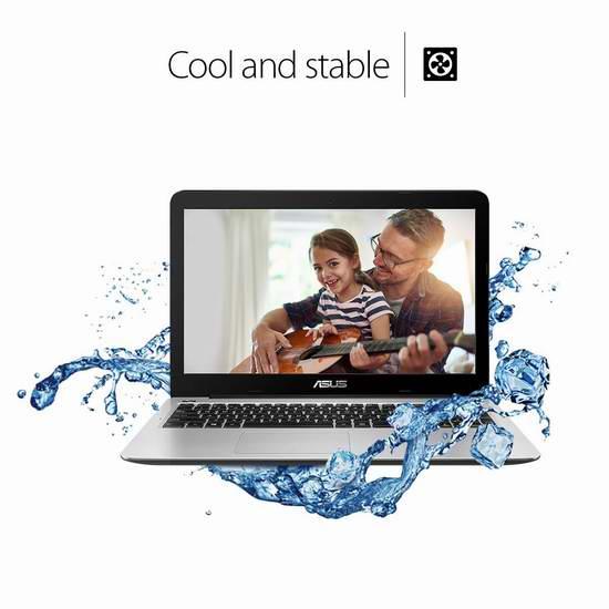 历史新低!Asus 华硕 F556UA-AB32 15.6英寸笔记本电脑 528.05元限时特卖并包邮!