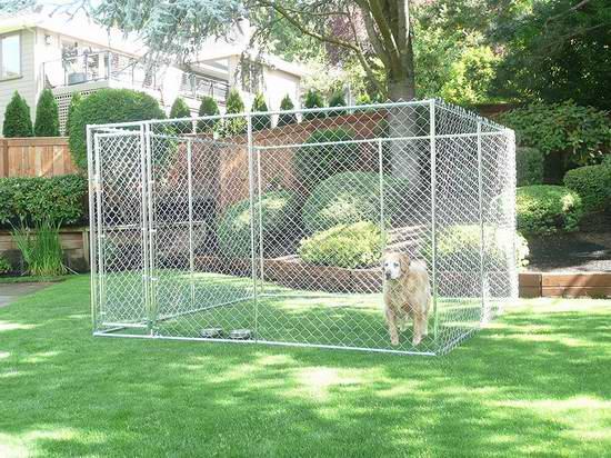 历史新低!Lucky Dog 二合一庭院大型狗笼3.7折 190.83元限量特卖并包邮!