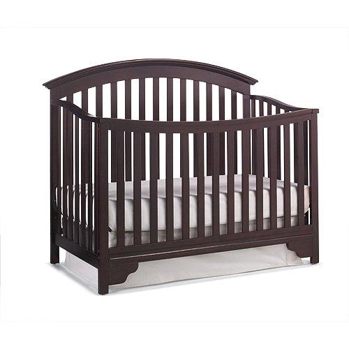 历史新低!Delta Children 7026-607 Sonoma 四合一多功能成长型婴儿床 169元限时特卖并包邮!