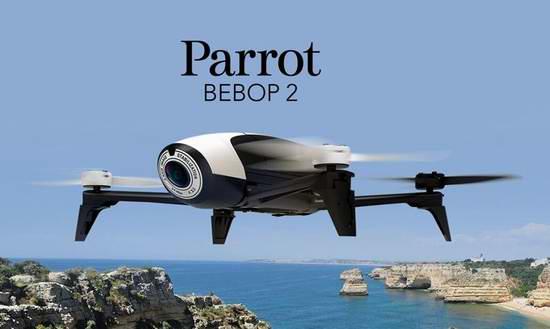 史低价上再降100元!法国 Parrot Bebop 2 高清航拍无人机5折 399.99元限时特卖并包邮!