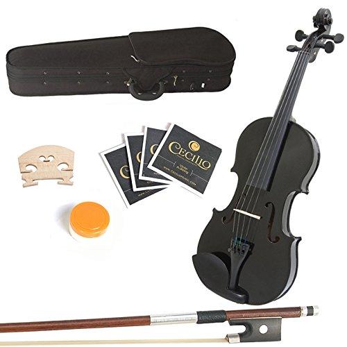 售价大降!历史新低!Mendini MA-Black 13英寸实木小提琴套装2.7折 43.41加元限时特卖并包邮!