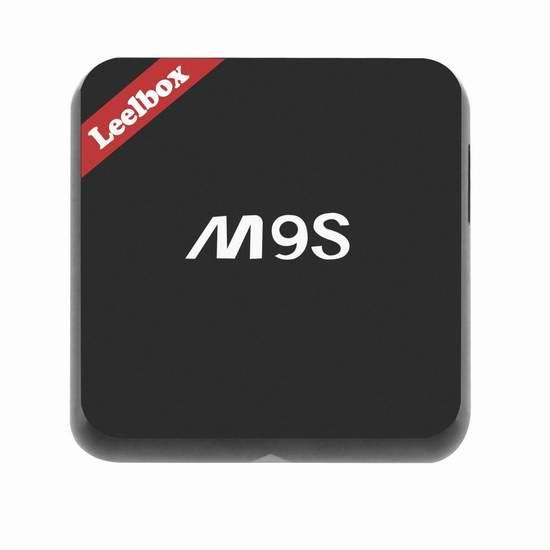 Leelbox m9s 4K高清3D四核流媒体播放器/网络电视机顶盒 67.99加元限量特卖并包邮!
