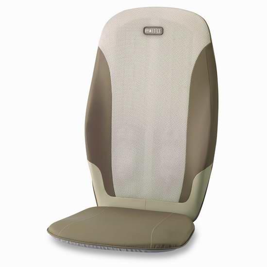 历史新低!HoMedics MCS-370H-CA 双重全背部按摩垫5折 99.99元限时特卖并包邮!