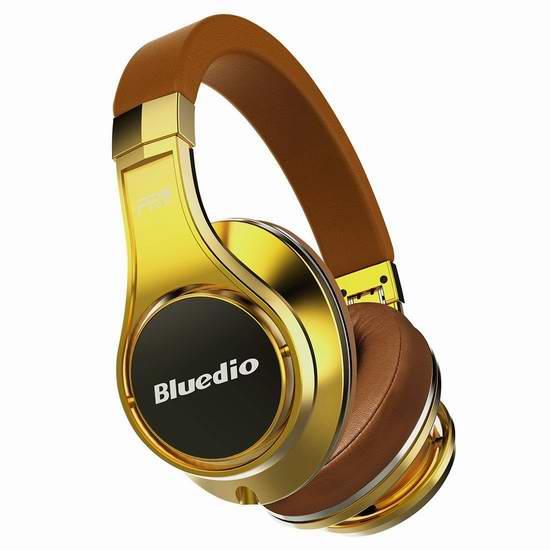Bluedio 蓝弦 U(UFO)旗舰版蓝牙头戴式耳机 119.99元限量特卖并包邮!