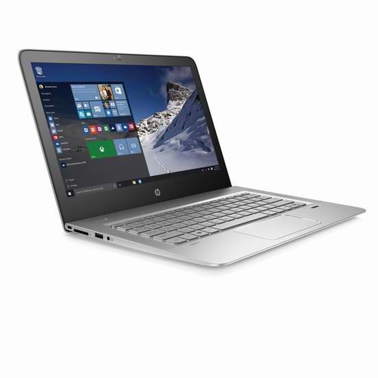 历史新低!HP 惠普 Envy 13-d010ca 13.3英寸笔记本电脑 850.62元限量特卖并包邮!