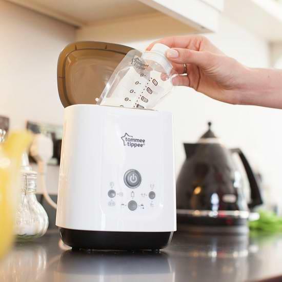 历史新低!Tommee Tippee 汤美天地 Pump and Go 婴儿奶瓶温奶器/食物加热器 55.82元限时特卖并包邮!