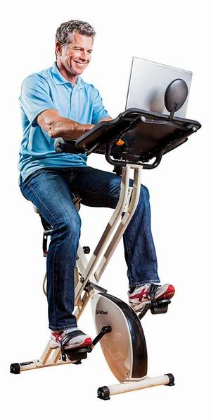 FitDesk FDP2.0 Desk 办公娱乐静音健身自行车5.6折 217.99加元包邮!