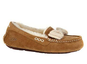 UGG Ansley Knit一脚蹬羊毛休闲鞋 122.99元(5,6码),原价 165元,包邮