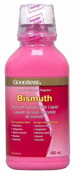 GoodSense Bismuth Subsalicylate 水杨酸亚铋480毫升装 5.75元限量特卖!