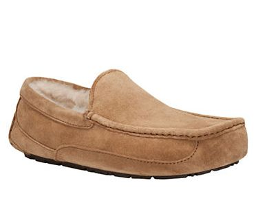 UGG Ascot 男士一脚蹬羊毛鞋 101.5元(7,9,10码),原价 145元,包邮