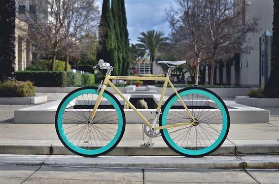售价大降!历史新低!Pure Fix Original Fixed Gear XXS号 时尚动感 超轻单速自行车3.3折 147.57元限时清仓并包邮!